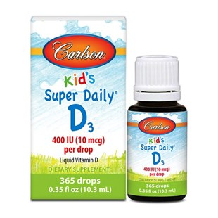 Carlson Kids Daily D3 10.3 ml Damla