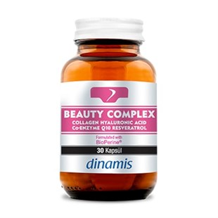 Dinamis Beauty Complex Collogen+Hyaluronic Acid+Resveratrol+Q10 30 Tablet