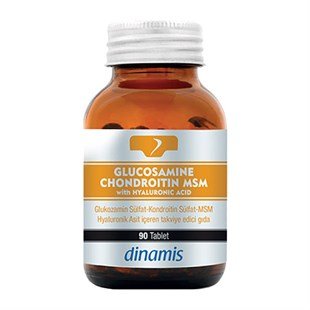 Dynamic Nutrition Glucosamine Chondroitin MSM 90 Tablet