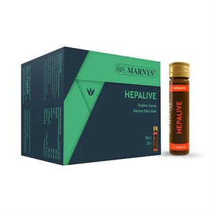 Marnys Hepalive Enginar İçeren 20 Flakonx10ml