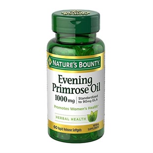 Nature s Bounty Evening Primrose Oil 1000 mg 60 softjel