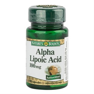 Natures Bounty Alpha Lipoic Acid 100 mg 60 Kapsül