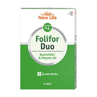 New Life Folifor Duo Folik Asit Ve D3 30 Tablet