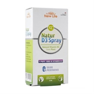 New Life Natur D3 1000 İU Spray 20ml