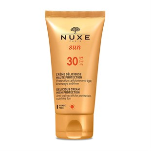 Nuxe Sun Creme Delicieuse Visage Haute Protection Spf30 50 ml