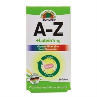 Sunlife A-Z + Lutein 60 Tablet