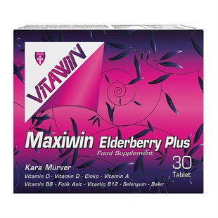Vitawin Maxiwin Elderberry Plus 30 Tablet