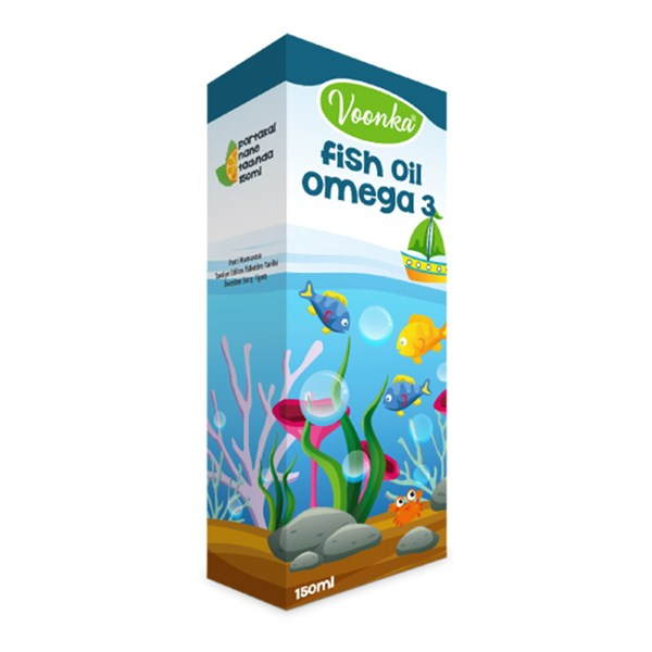 Voonka Fish Oil Omega 3 150ml
